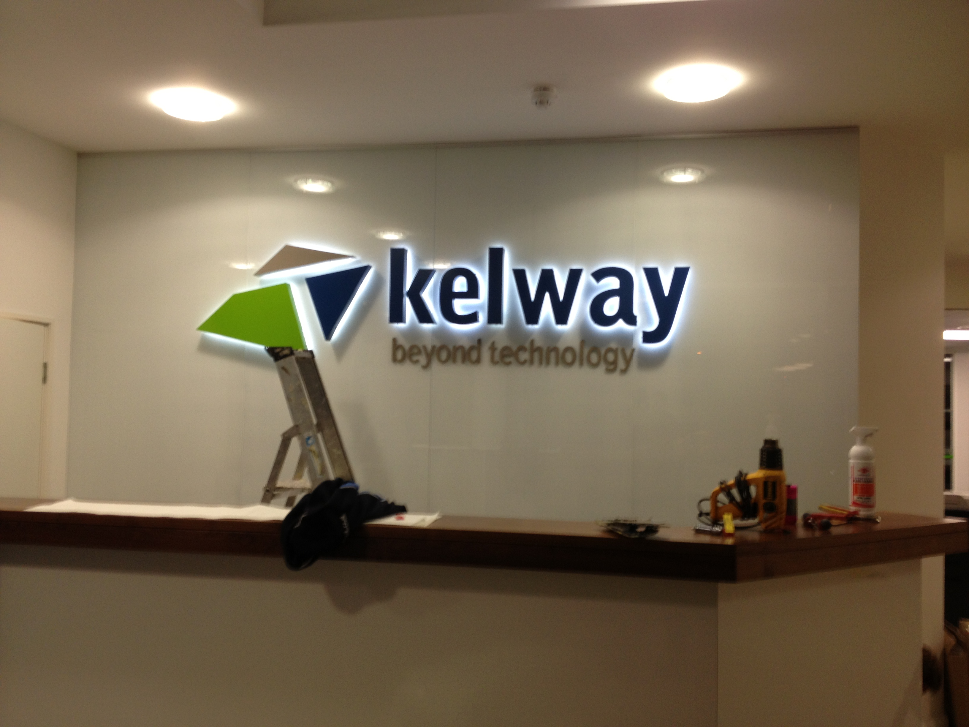 kelway corporate sign
