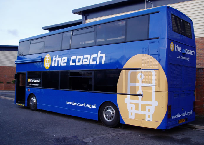 the coach vehicle graphics