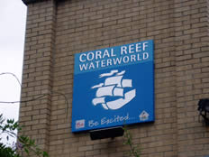 coral reef corporate sign